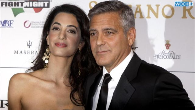 Inside George Clooney And Amal Alamuddin's First Red ...